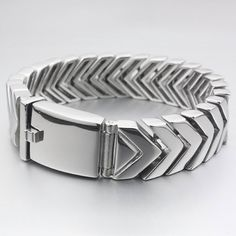 7.6 Stainless Steel Matte Finished Round Hinged Bangle Length