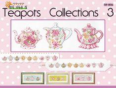 Solo Patrones Punto Cruz 1/4 Teapot Collection 3
