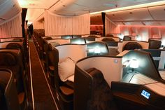 China Airline 777-300ER Business Class