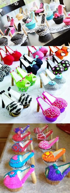 My 2 favorites - shoes & cupcakes - I'm in heaven!!
