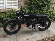 Honda CB 125 T Brat style café racer Scrambler Motos Bouches-du-Rhône - leboncoin.fr