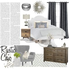 Rustic Chic Bedroom rustic chic bedroom decor. diy farmhouse king bed. diy bench. diy