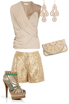 """""""neutral glamour"""" by sirryh on Polyvore"""