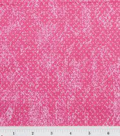 Keepsake Calico Fabric - Pink Polka Dot Texture