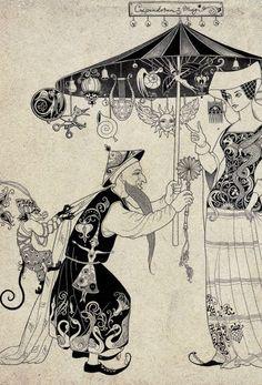 fairytale illustrations by Sveta Dorosheva of Israel