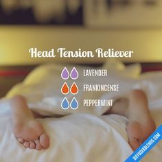 Head Tension Reliever - Essential Oil Diffuser Blend