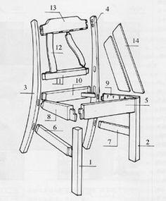 家具结构爆炸图 - Google 搜索