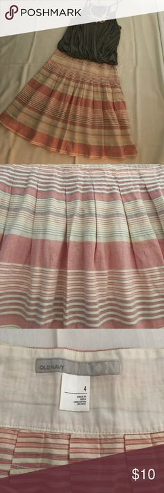 Old navy skirt, size 4, 100% cotton Great condition. Wore several times. Thank you for looking and sharing. Old Navy Skirts Midi