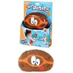 POOF Pool Toys Hot Potato Splash takes the classic game of Hot Potato hydro. Players in the pool toss and catch the musical tater. Whoever's holding the Potato when the music stops is eliminated. Pool Toys For Kids, Sports Games For Kids, Kid Pool, Kids Toys, Children Play, Water Balloon Games, Water Balloons, Water Games, Fun Pool Games