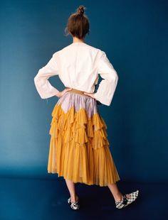 Grace Hartzel, Julie Hoomans by Angelo Pennetta for Self Sevice Magazine Spring Summer 2016