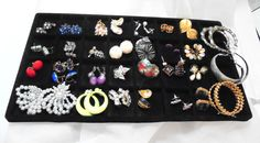 30 Pair of Vintage Earrings, Pierced, Clip and Screwback by bitzofglitz4u on Etsy