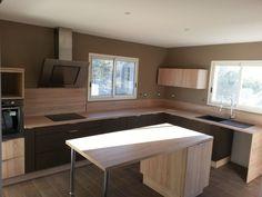 Enfin ma belle cuisine est l� ! J'adore - Autoconstruction sur l'�le de beaut� par Carina2a sur ForumConstruire.com