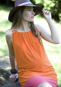 Vestido premamá tirantes tricolor [18434] - 68,97€ : Tienda premamá online. Moda prenatal para embarazadas y ropa interior para embarazo y lactancia., Demamis.com