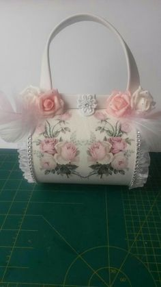 Tasje My Favorite Image, My Favorite Things, Decoupage, Paper Crafts, Couture, Tote Bag, Purses, Creative, Bags