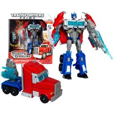 Hasbro Year 2011 Transformers Robots in Disguise Prime Series 1 Voyager Class 7 Inch Tall Robot Action Figure  #l4l