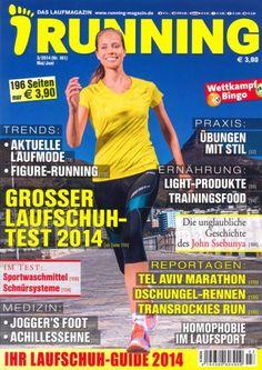 """Running 3/2014  """"Grosser Laufschuhtest"""""""