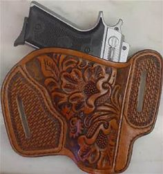 Holster Western Leather Tooling Patterns