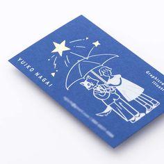 名刺箔押し印刷 永井結子様 | 箔押し印刷・名入れ専門店 あさだ屋 Art Business Cards, Business Card Design, Graphic Design Posters, Graphic Design Inspiration, Stationery Design, Branding Design, Name Card Design, Bussiness Card, Artist Card