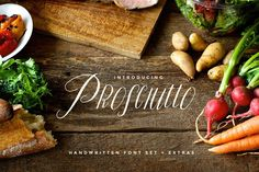Prosciutto Font Set by tuccicursive on @creativemarket
