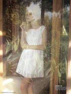Lovely white dress!