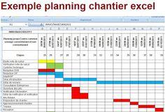 Excel analyse stock diagramme de gantt planification gestion exemple de gestion de planning chantier excel ccuart Images