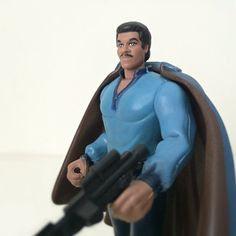 1995 POTF Star Wars Figure, Lando Calrissian - 1990s Star Wars Toy - Empire Strikes Back - Power of the Force Kenner Toy Line