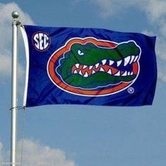 In addition, a royalty has been paid to the Team, College, University, or Institution for trademark use. NCAA Florida Gators x Large Flag. Fly Your Team Allegiance Show the Neighbors which team your Rooting for with our. Fla Gators, Florida Gators Logo, University Of Florida, Garden Decor Items, Screen Printing, Banner, Football, American Football