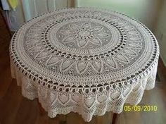 round crochet tablecloth free patterns - Bing images