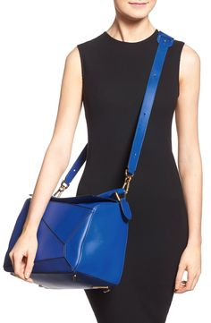 Loewe 'Large Puzzle' Leather Bag