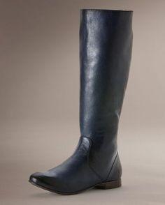 Women's Jillian Pull On Boot - Navy