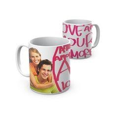 Caneca Amor para casais apaixonados! Love Mug for loving couples.
