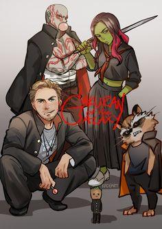 "Guardians of the Galaxy Vol.2 || ""Gakuran of the Galax"""