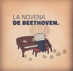 La novena de Bethoven - Happy drawings :)