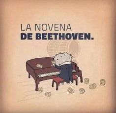 La novena de Bethoven - Happy drawings :)