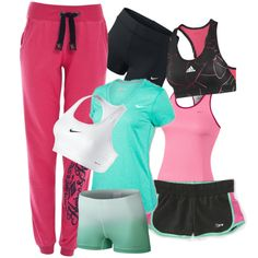 """Sporty look"" by ltnstyle on Polyvore"
