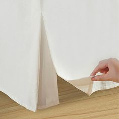 Wrap-Around Wonderskirt King Bed Skirt in Taupe
