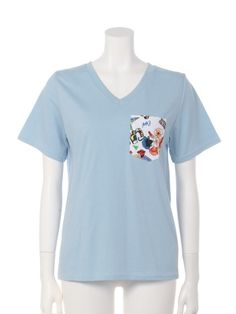 CALHD Vネック 柄ポケ Tシャツ(Tシャツ)|RODEO CROWNS WIDE BOWL(ロデオクラウンズ ワイドボウル)|ファッション通販 - ファッションウォーカー