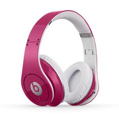 Beats by Dr. Dre Headphones, Beats Studio Over-Ear Headphone - Electronics - for the home - Macy's Beats Studio Headphones, Pink Headphones, Audio Headphones, Over Ear Headphones, Beats Audio, Beats By Dre, Cool Things To Buy, Stuff To Buy, Awesome Things