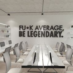 Be Legendary Workplace wall art , Functional Office Décor , Cool Offices, Workplace Decor SKU:AVLEGE – Modern Corporate Office Design Corporate Office Design, Office Wall Design, Corporate Interiors, Office Walls, Office Wall Art, Office Interior Design, Home Office Decor, Office Interiors, Corporate Business