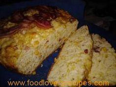 POTBROOD MET SPEK Braai Recipes, South African Recipes, Dessert Recipes, Desserts, Side Dishes, Snacks, Cooking, Breakfast, Afrikaans