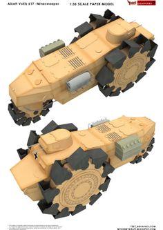 Alkett VsKfz 617 -Minesweeper 1:35