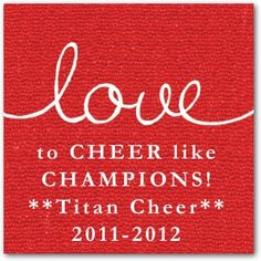 Personalized Cheer Bag Tag