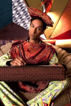 Community: Danny Pudi as Abed in Pillowtown