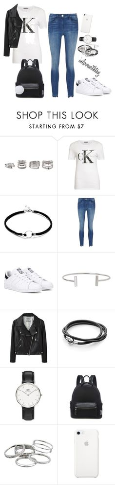 """""""19❤"""" by inlovewithtay on Polyvore featuring mode, Forever 21, adidas Originals, Humble Chic, Acne Studios, Daniel Wellington, Kendra Scott, adidas, CalvinKlein et danielwellington"""