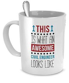 Mug Civil Engineer gifts Civil Engineer mug - Awesome Civ...…