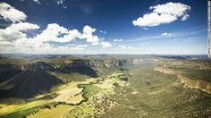 Capertee Valley, 135 kilometers northwest of Sydney, is said to be slightly longer than the Grand Canyon but not quite as deep, making it th...