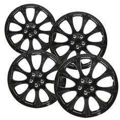 25 best car truck parts wheels tires parts images motor Custom Grilles 4 pc set of 15 ice black hub caps full lug skin rim cover for