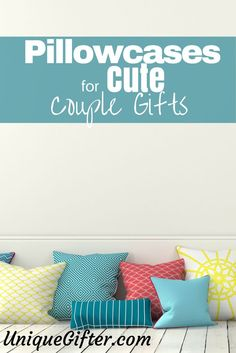 Are  you in search of  cute couples gifts? Perhaps you need a gift idea for your girlfriend, who is in love with all things cutesy, adorable and affectionate. Did you know that there are hundreds of pillowcases that meet this description? I bet you didn't. http://uniquegifter.com/pillowcases-cute-couples-gifts/ Gift basket Ideas #giftbasketideas #giftbaskets