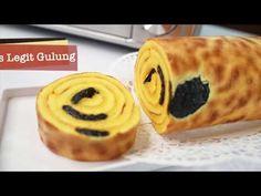 Lapis Legit Gulung ANTI GAGAL - YouTube Bread Recipes, Baking Recipes, Cookie Recipes, Snack Recipes, Snacks, Sponge Cake Roll, Lapis Legit, Brownie Cake, Brownies