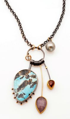 Turquesa necklace by Sydney Lynch